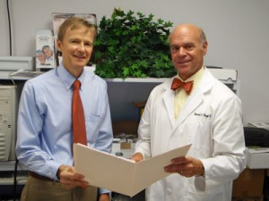 Dr. David Hoyt and Dr. Thomas Coccagna