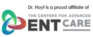 Dr. David Hoyt is a member of the Centers for Advanced ENT Care